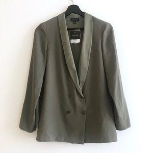 TOPSHOP olive/army green blazer